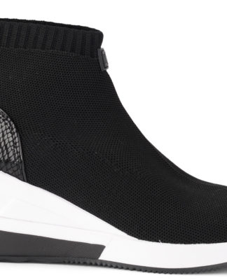 Michael Kors Skyler Black Fabric Sock Sneaker