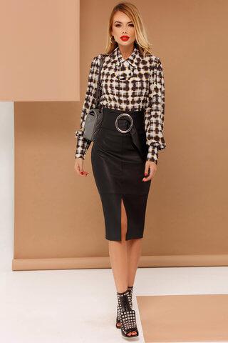 Bluza dama PrettyGirl gri office